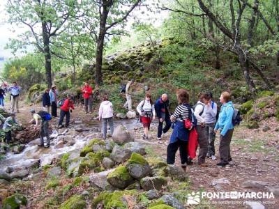Valle del Jerte - Cascada del Caozo; rutas por la sierra; sierra de madrid senderismo